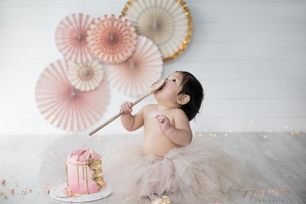 Poppy Carter Portraits Cake Smash Photography Buckinghamshire