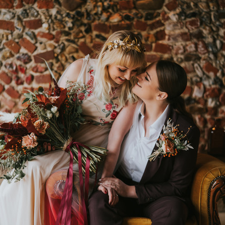 Pumpkin Spice - Autumn Wedding - Poppy Carter Portraits - Buckinghamshire Wedding Photography