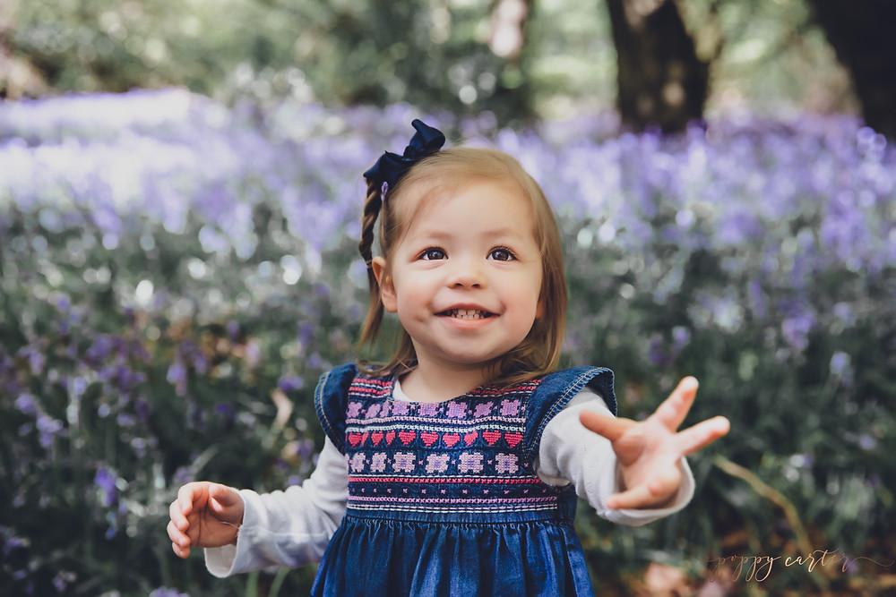 Poppy Carter Portraits Family Photography Buckinghamshire Bluebells