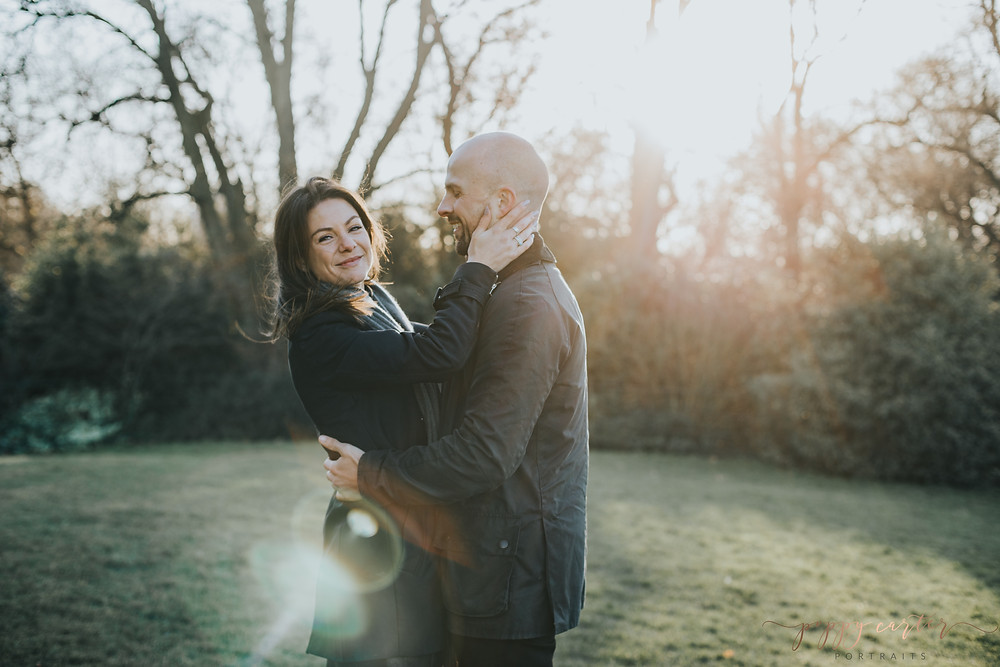 Poppy Carter Portraits Battersea Park Engagement Photography London Wedding Photography
