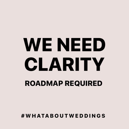 What about Weddings?! - Coronavirus UK - Wedding Postponements