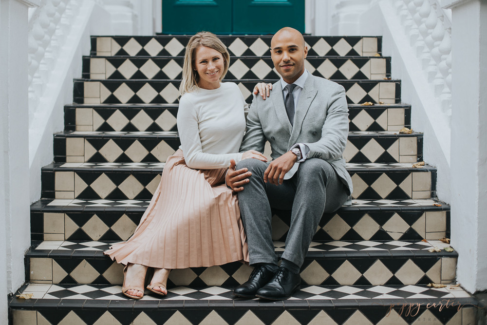 Poppy Carter Portraits London Wedding Photography Notting Hill Engagement Photography