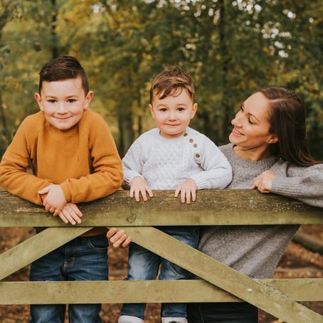 Autumn Mini Sessions - Buckinghamshire Autumn Photography - Poppy Carter Portraits
