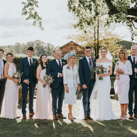 How to get the best from your posed Family Photos at your Wedding?