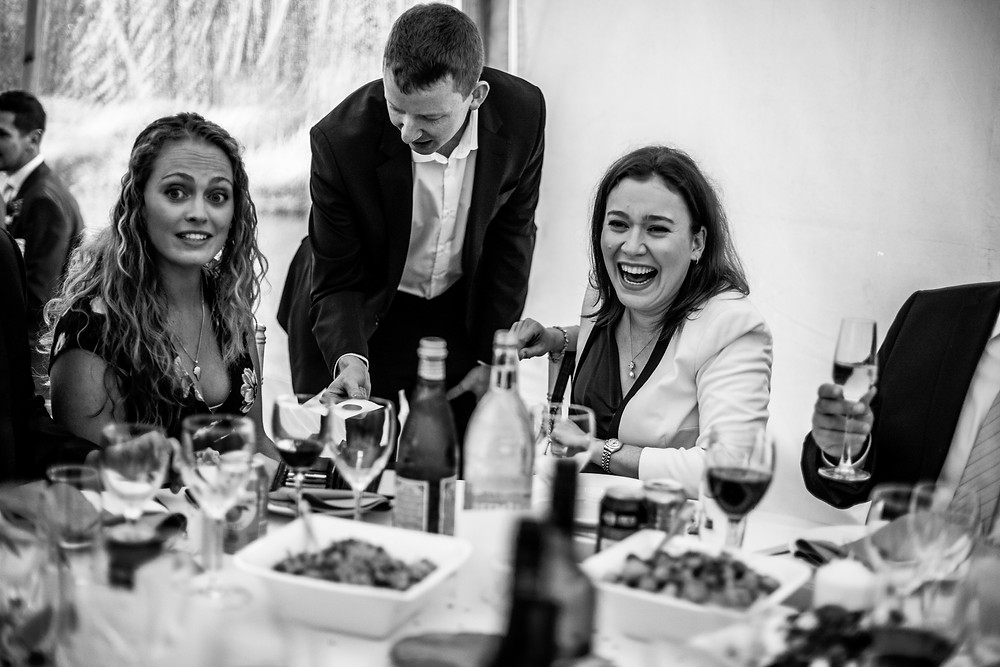 Wedding Magician Andrew Kelly - Wedding Photographer Poppy Carter Portraits - Book Buckinghamshire Wedding Suppliers - Book London Wedding Suppliers