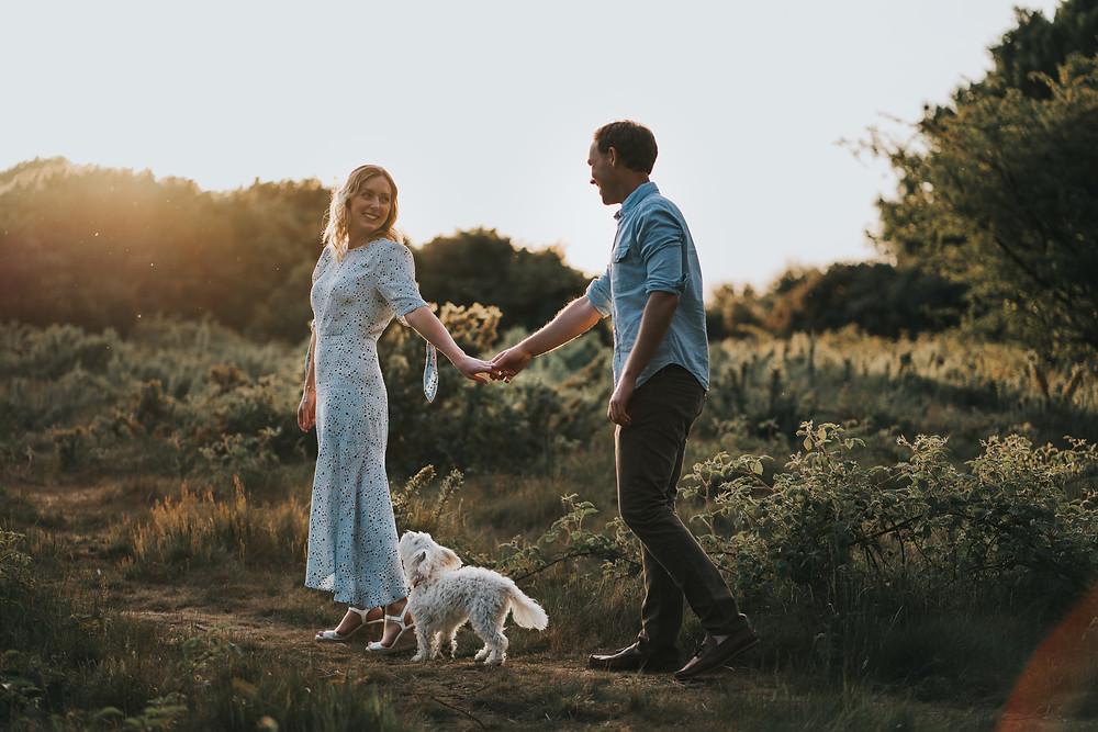 Wedding Photography Buckinghamshire Wedding Photographer Sunset Engagement Photography