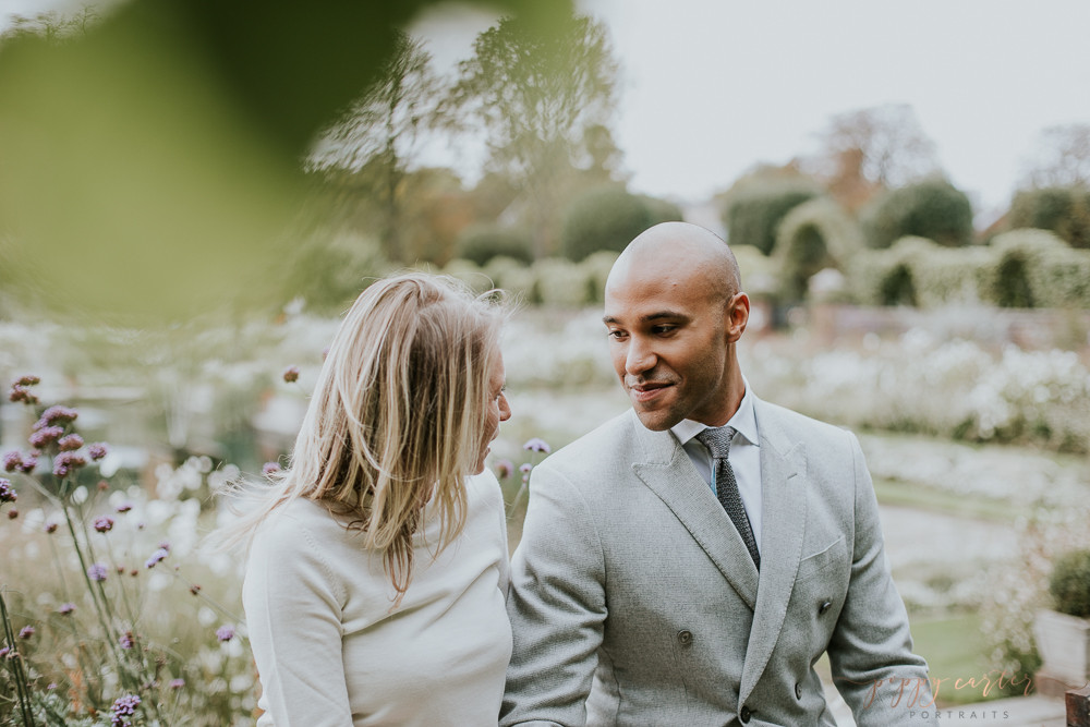 Poppy Carter Portraits London Wedding Photography Notting Hill Engagement Photography Kensington Gardens