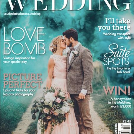 Your Berks, Bucks & Oxon Wedding Magazine Cover - Poppy Carter Portraits - Wedding Photography