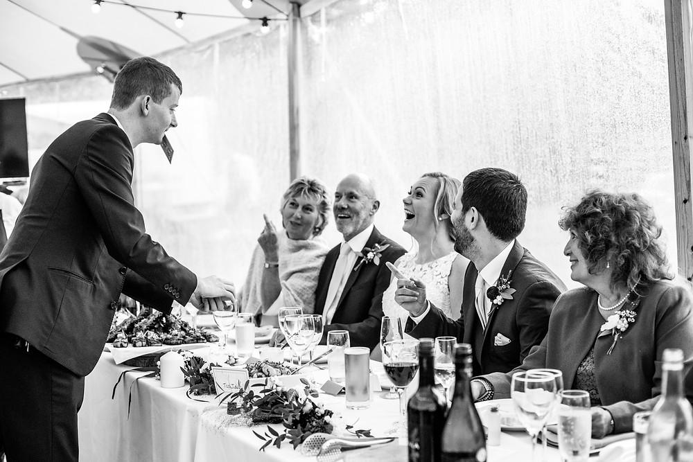 Wedding Magician Andrew Kelly - Wedding Photographer Poppy Carter Portraits - Book Buckinghamshire Wedding Suppliers - Book London Wedding Suppliers