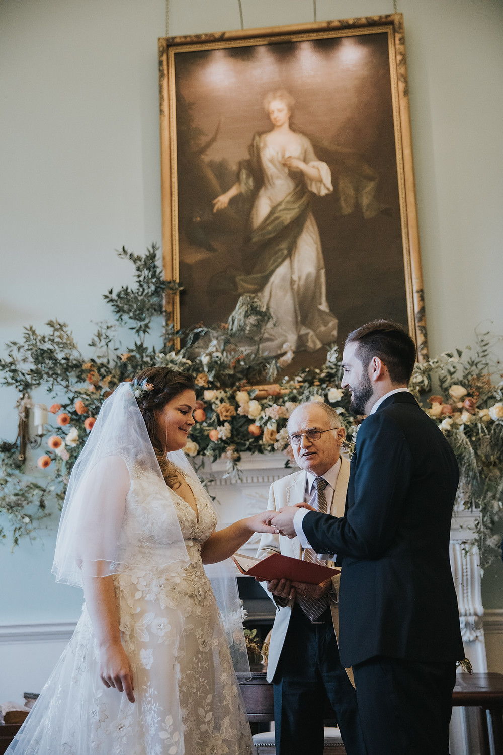 Kirtlington Park Wedding Photography - Poppy Carter Portraits - Elegant Oxford Wedding