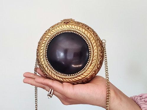 Black Beauty Vintage Clutch