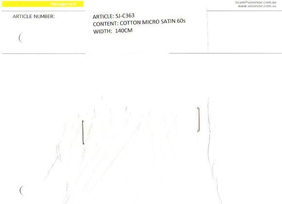 Cotton Micro Satin 60s