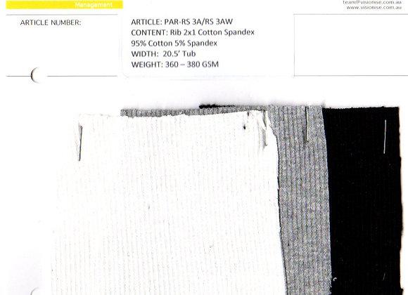 95% Cotton 5% Spandex