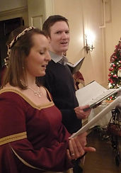 Melissa and husband Peter sing together