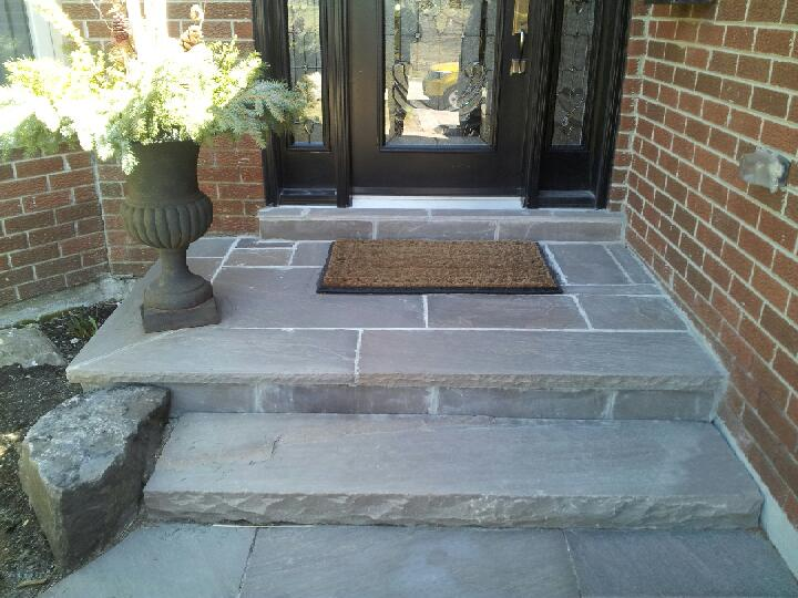 Island Cut Stone Porches & Stairs
