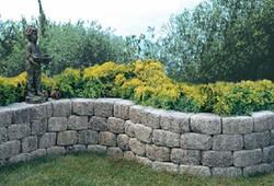 Island Cut Stone Walls