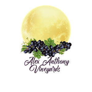 Alex Anthony Logo white moon grapes.png