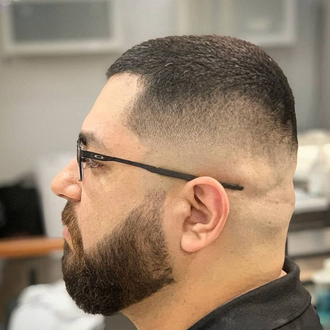 Mens Grooming Services include beard grooming and fade hair styles in NW San Antonio.