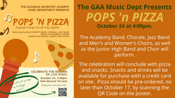 Dear Church Family, Join us as we celebrate the return of live music! The GAA Music Depart