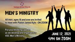 Calling All Men - June 12 ZOOM Meeting