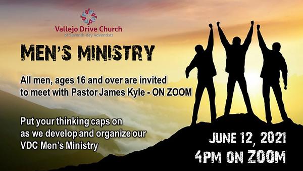 Calling All Men - June 12 ZOOM Meeting I
