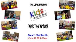 Kids Connection Returns June 12 2021