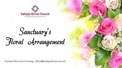 Sanctuary Floral Arrangment