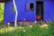 Silviu Ghetie - Casa albastra signature.