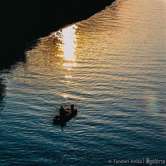 Tiszai horgász | Tandari Anita