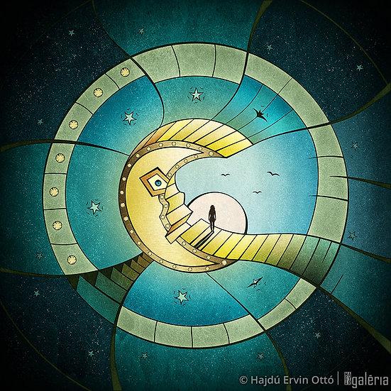 A Holdon álmodó | Hajdú Ervin Ottó