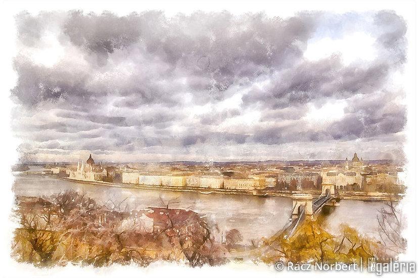 A Duna Budapesten | Rácz Norbert