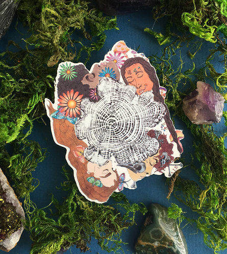 STICKER 'When the Sun Came Out'