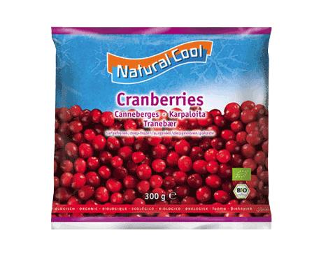 Natural Cool, Cranberries bio 300g