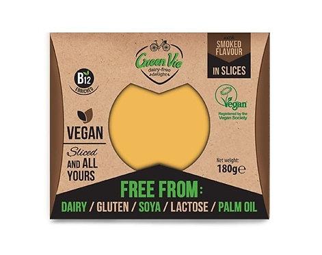 Green Vie, Smoked Gouda cheese slices 180g