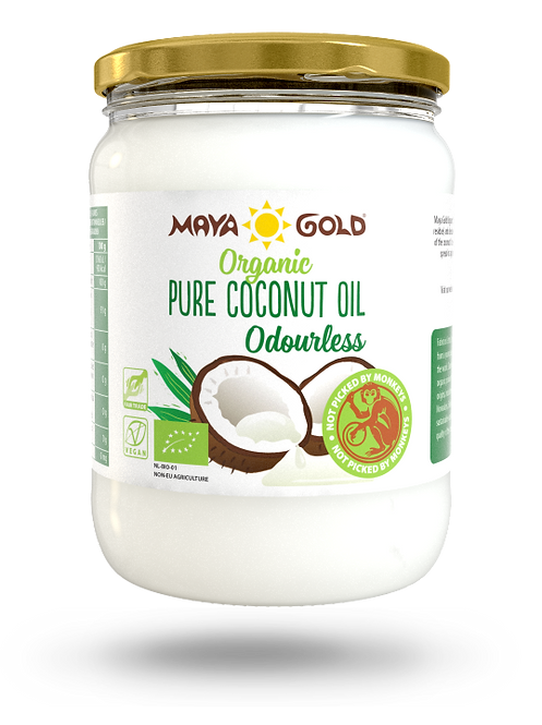 Maya Gold, Pure Coconut Oil (odourless) bio 50ml