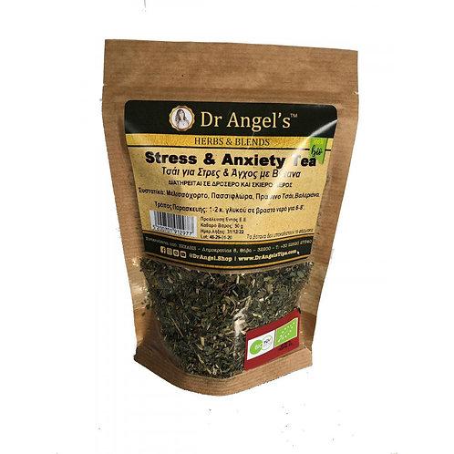 Dr. Angels, Stress & Anxiety tea bio 50g