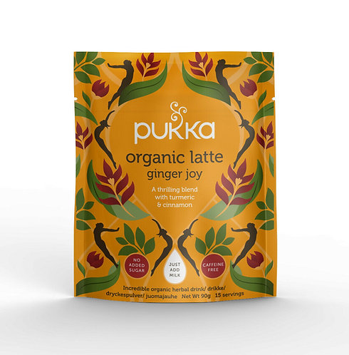 Pukka, Latte Ginger Joy (Coffee Alternative) bio 90g
