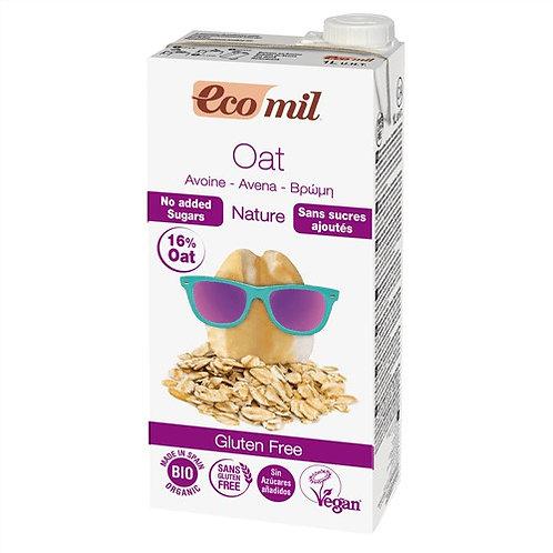 Ecomil, Oat milk (sugar free) bio 1L
