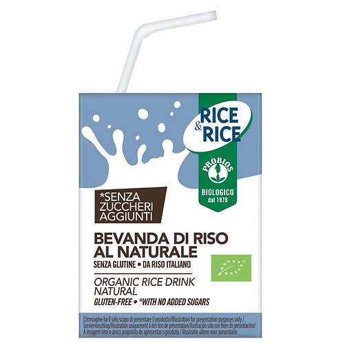 Probios, Rice milk natural bio 200ml