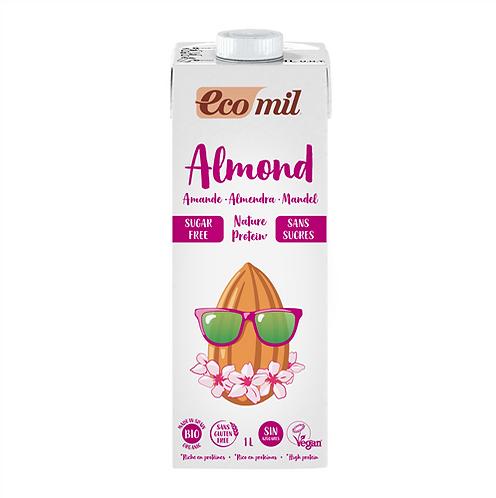 Ecomil, Almond milk with protein (sugar free) bio 1L