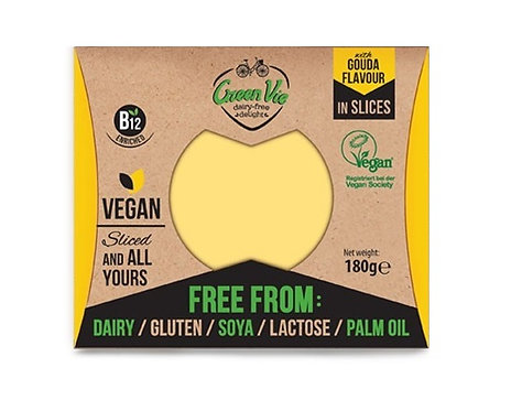 Green Vie, Gouda cheese slices 180g