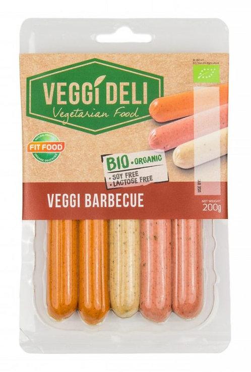 Fit Food, Vegan Sausages BBQ Mix bio 200g