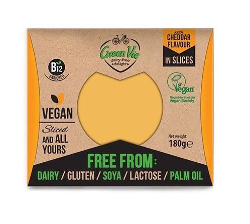 Green Vie, Cheddar cheese slices 180g