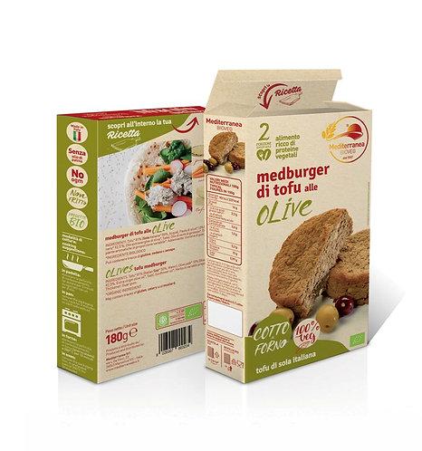 Mediterranea, Olives Tofu Burger