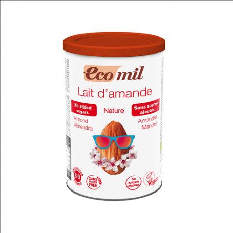 Ecomil, Almond milk instant powder (sugar free) bio 400g