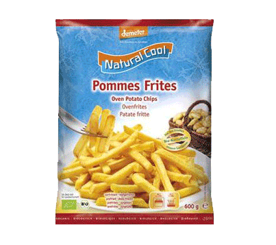 Natural Cool, Oven Chips bio 600g