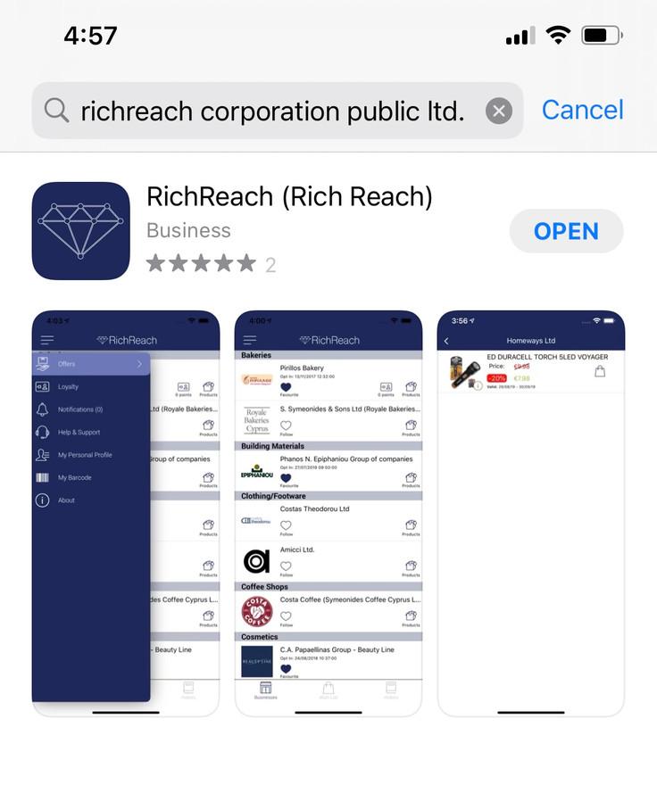 Find RichReach & download