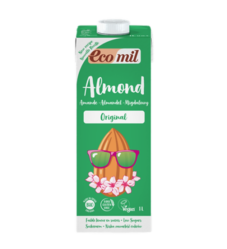 Ecomil, Almond milk with Agave bio 1L