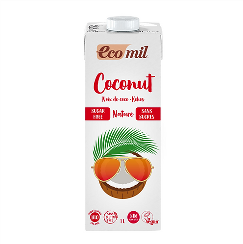 Ecomil, Coconut milk (sugar free) bio 1L