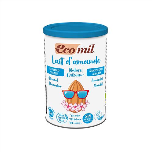 Ecomil, Almond milk calcium instant powder (sugar free) bio 400g